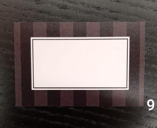 Namecards Black