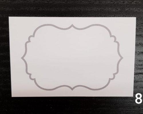 Namecards Silver