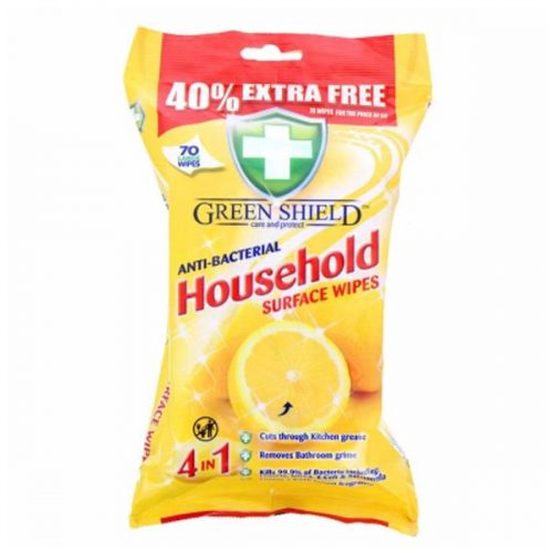 Greenshield #1 Anti Bacterial Household Wipes