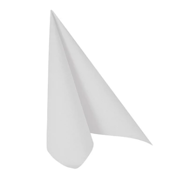 Napkins ROYAL Collection White 40x40cm 50pk