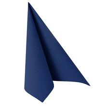 Napkins ROYAL Collection Plain Dark Blue 40x40cm 50pk
