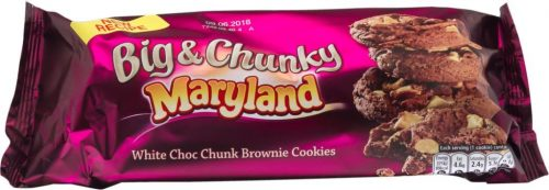 Marylands Big and Chunky White Choc Chunk Brownie Cookies