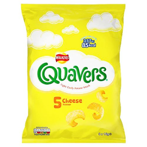 Walkers Cheese Quavers 5 pack