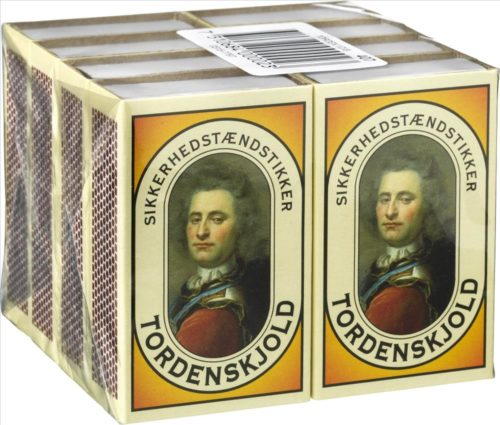 Tordenskjold Matches 8 pack Campus & Co